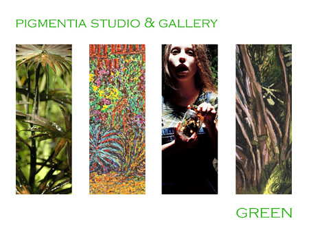 Pigmentia Gallery, Green