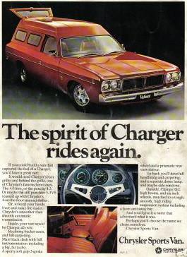 Dodge sports van