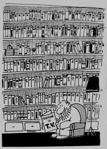 Dibujo de Jaume Perich
