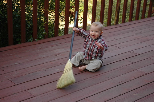 Holden the Broom Sweeper