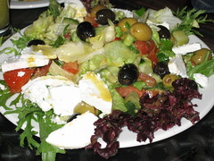 Ayoush special oriental salad (oriental mix of tomatoes, lettuce, artichoke, asparagus