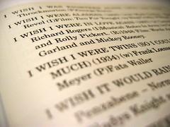 I wish I.....