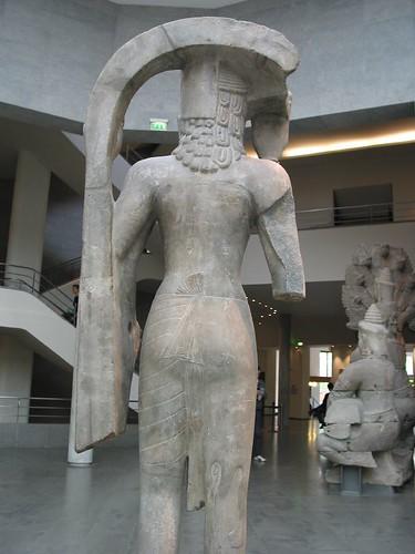 訶里訶羅(harihara)背面