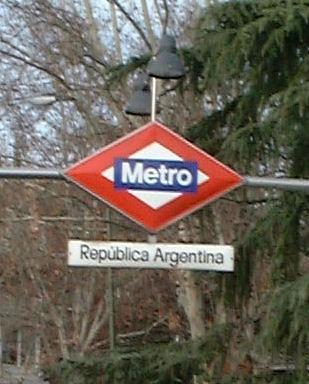metro7subte República Argentina (Madrid)