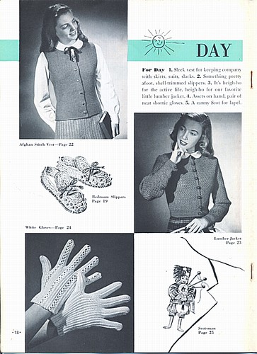 Learn to Crochet: day looks