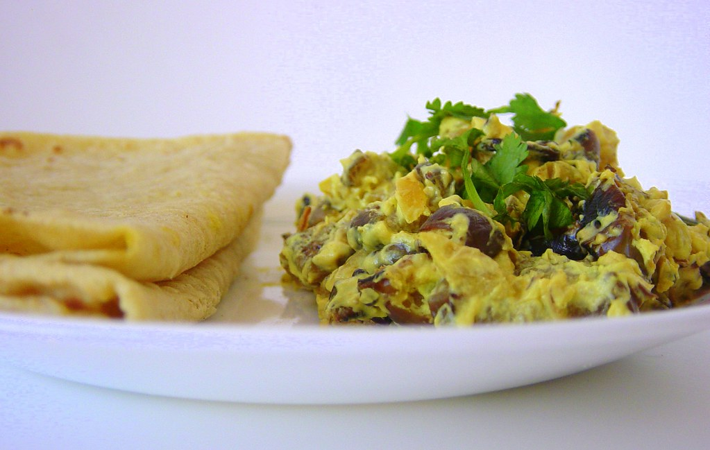 eggplant subji