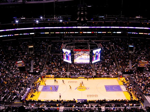 Lakers Spurs Game