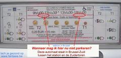 parkeerautomaat taalverwarring