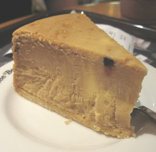 Coffee cheesecake