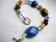 chunky toggle style bracelet