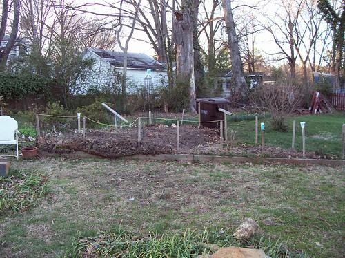 garden - pre-spring