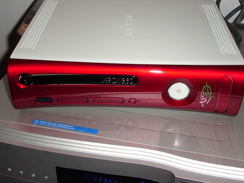 Metallic Red Xbox 360 Faceplate