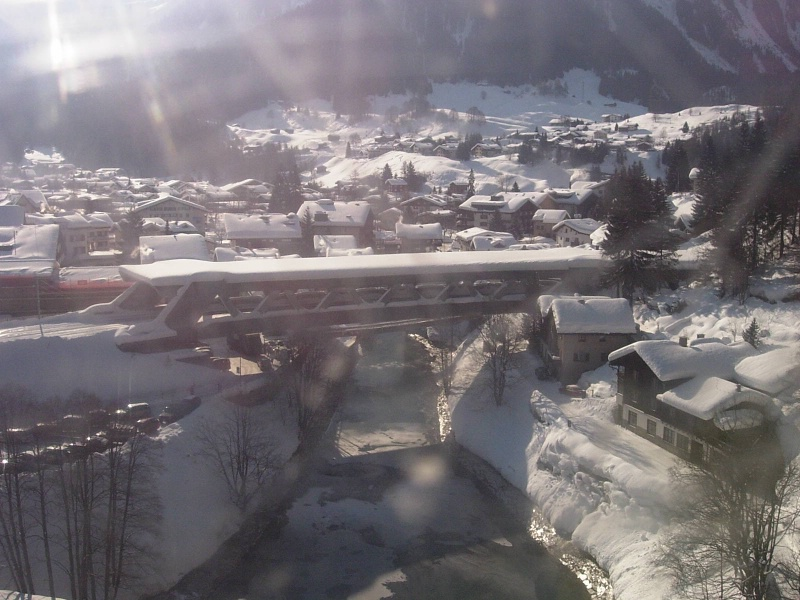 Klosters from a lift up.