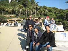 Bench Yang Kononnye Terpanjang Di Dunia kat Parc Güell, Barcelona, Spain