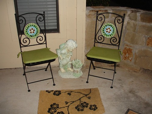Verandah Mosaic Seating Area