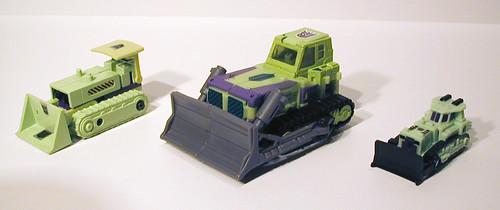 G1 Bonecrusher, TFU G1 Bonecrusher, TFU Micromaster Bonecrusher - Alt Modes