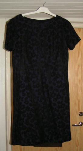Lila & svart klänning 1.