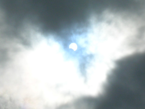 Partial Eclipse 2006 from Golden Square London