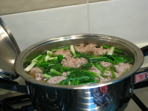 Liver Chinese Parsley Soup