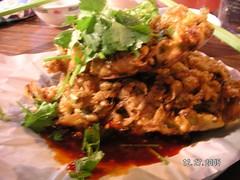 deep fried oyster cakes temple street hong kong