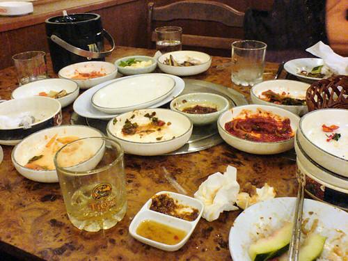 No more Korean Food