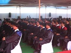 robed participants