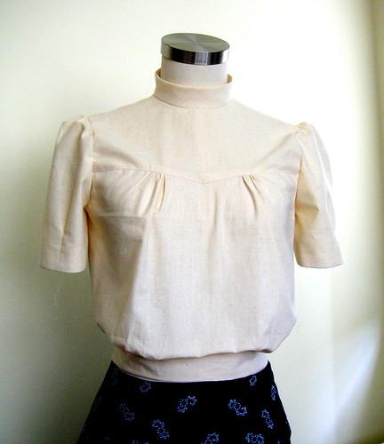 vintage blouse 2