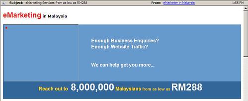 Malaysian Spam