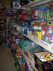 Wilson's Toy Section