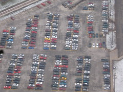 parking lot full