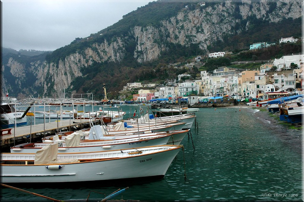 The Harbor, Capri, Italy