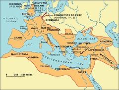 Peta Empayar Rome