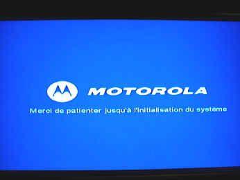 Coditel digitale televisie: initialisatie