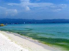 White sandy beach, Boracay
