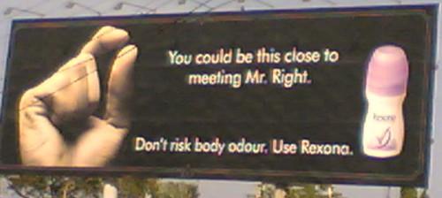 rexona - mr. right