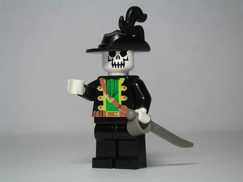 Captain Barbossa in lego by Dunechaser on Flickr