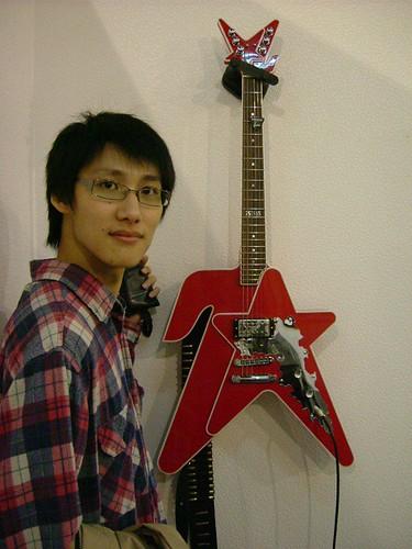 超有設計感的的吉他