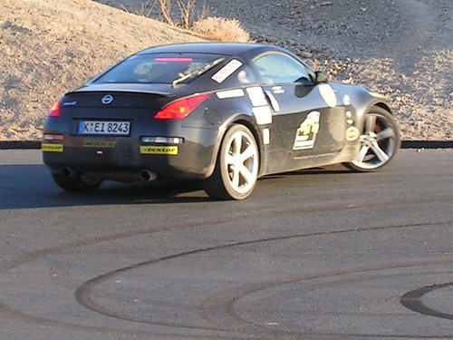 Dunlop drivers cup - lunatics on public road in Death Valley