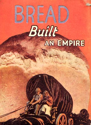 Bread Built An Empire - Recipe booklet back cover