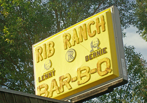 Sign Outside Rib Ranch