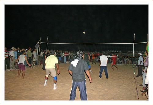 Beach Volley Ball - Red vs Green