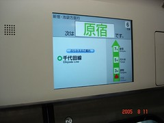 Japan Real Time Arrival Display
