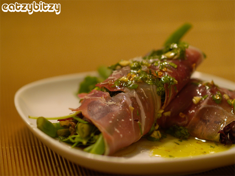 Prosciutto-wrapped Salad