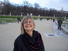 Christmas Day in Luxembourg Gardens