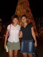 big xmas tree at raffles city