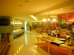 Food court of Emporium