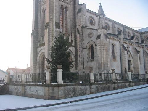 Saint Ferdinand sous la neige