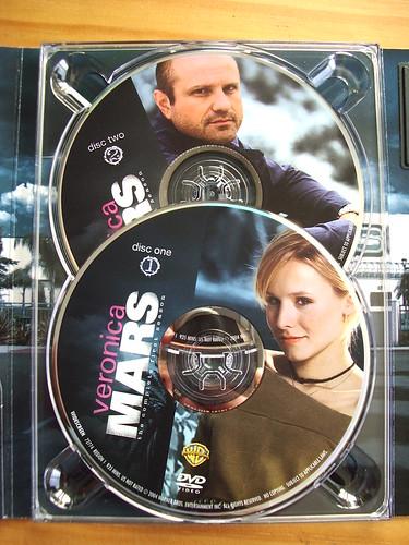 DVDs de la primera temporada de Veronica Mars