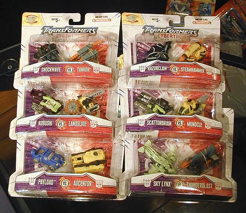Cybertron Mini-con 2 Packs!