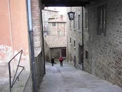 Xmas walk in Cortona